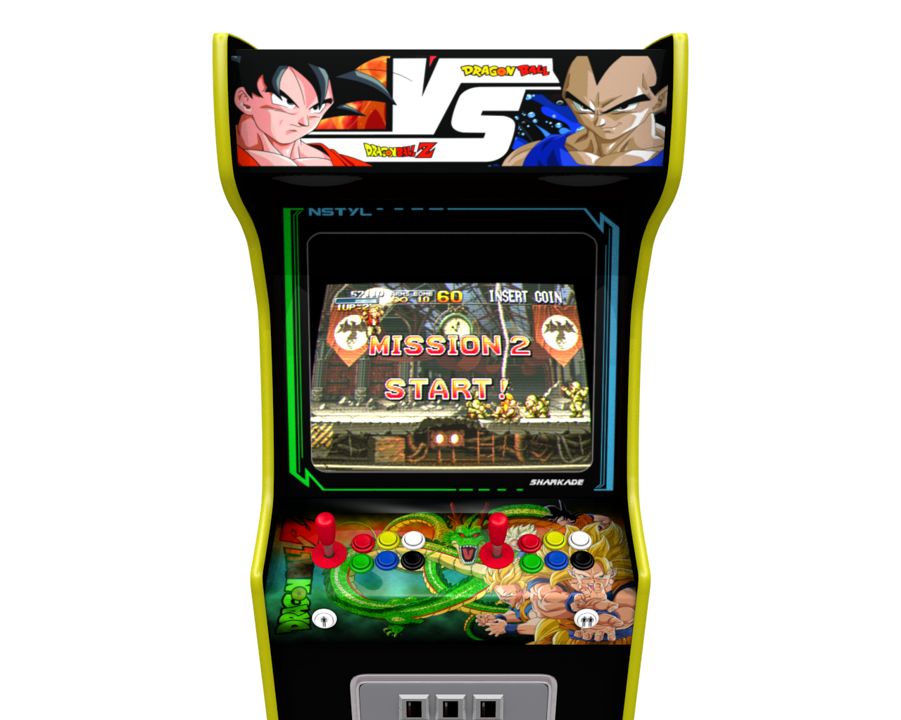 borne arcade dragon ball