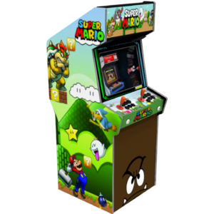 sticker borne arcade